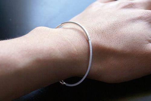 Ag_ bracelet